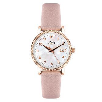 Limit Ladies' Pink Strap Watch - Product number 8061327