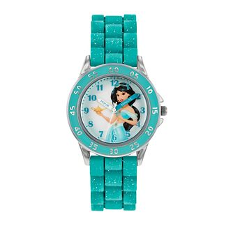 Disney Princess Jasmine Teal Strap Time Teacher Watch - Product number 8068194