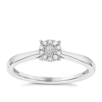 Silver Engagement Rings H Samuel