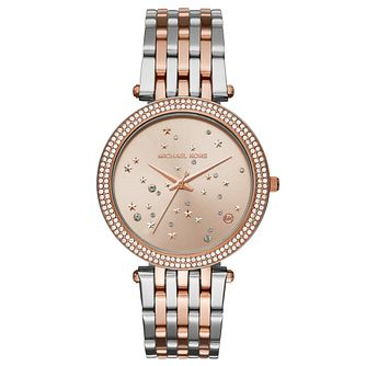 Michael Kors Darci Ladies' Two Colour Stone Set Watch - Product number 8080569