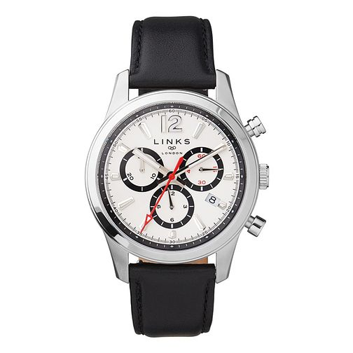 Links of London Greenwich Men's White Strap Watch - Product number 8080712