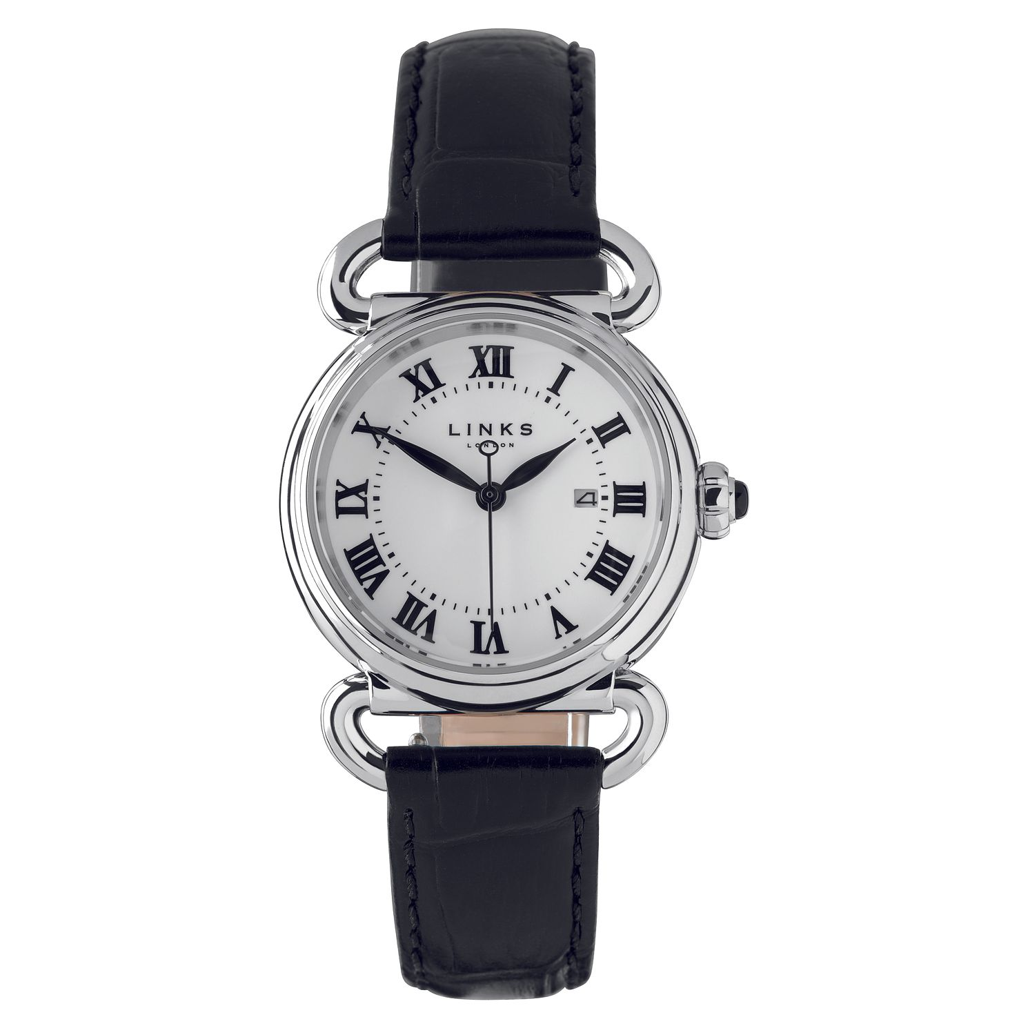 Links Of London Driver Ladies' Black Strap Watch - Product number 8080739