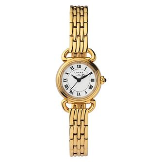 Links of London Driver Ladies' Gold Plated Bracelet Watch - Product number 8080755