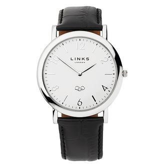 Links of London Noble Men's Black Strap Watch - Product number 8080771