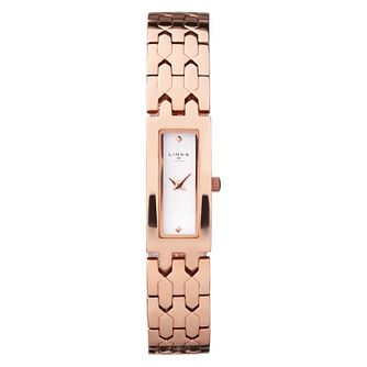 Links Of London Selene Ladies' Rose Gold Plated Slim Watch - Product number 8080836