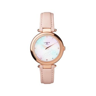 Links of London Timeless Ladies' Rose Gold Plated Watch - Product number 8080844