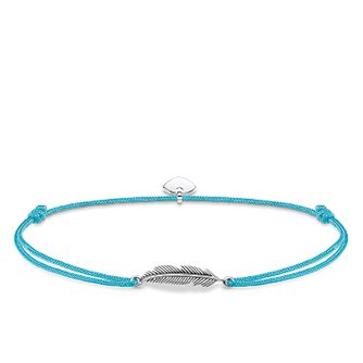 Thomas Sabo Little Secrets Silver Feather Turquoise Bracelet - Product number 8081751