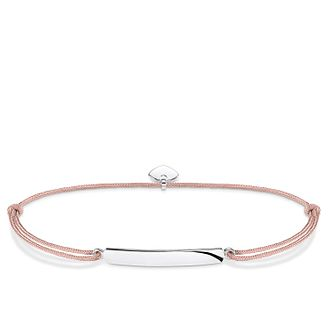 Thomas Sabo Little Secrets Silver Classic Bar Beige Bracelet - Product number 8081786