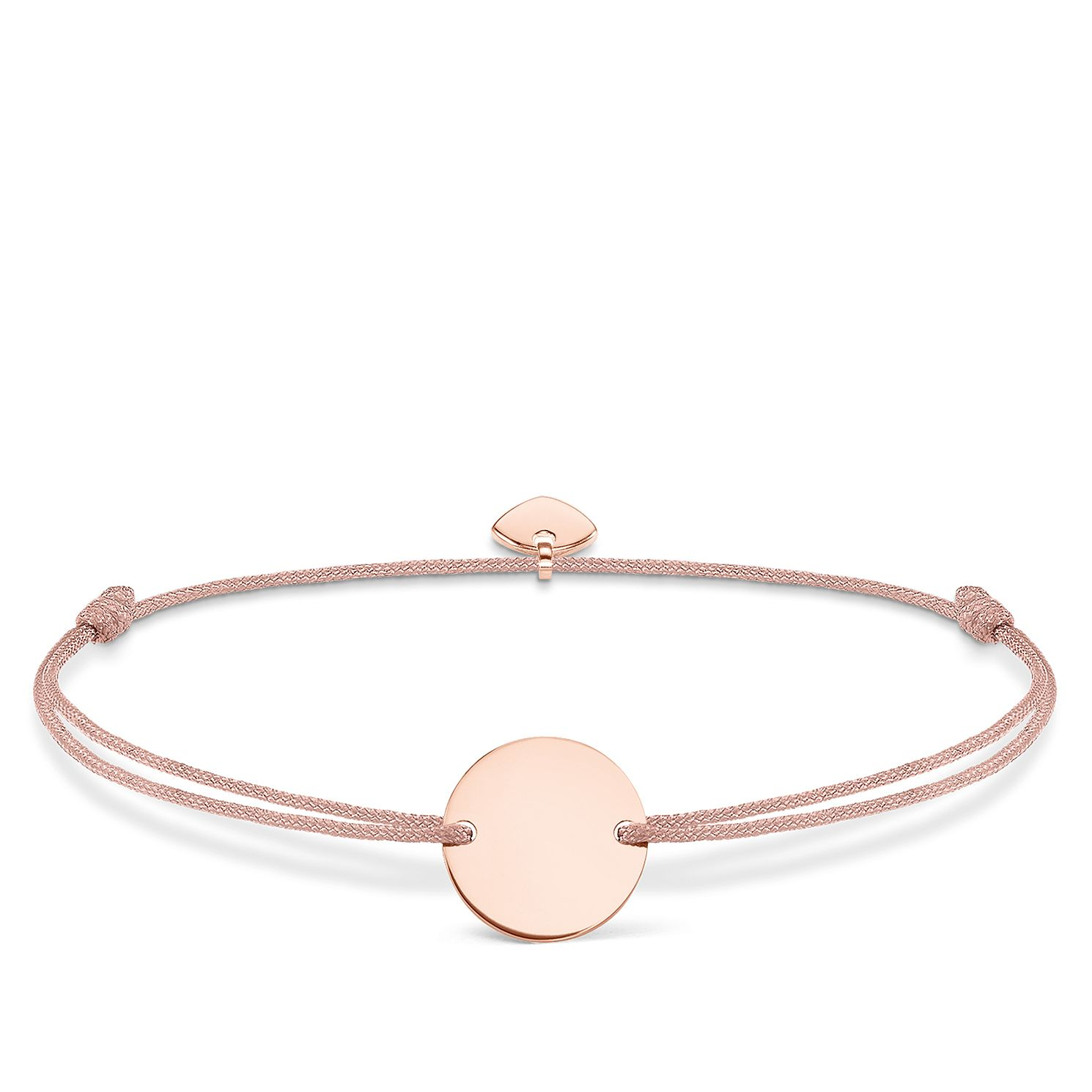 Thomas Sabo Little Secrets Rose Gold-Plated Disc Bracelet - Product number 8081875