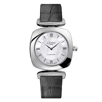 Glashutte Original Pavonina Ladies' Leather Strap Watch - Product number 8084270