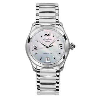 Glashutte Lady Serenade Ladies' Mother of Pearl Watch - Product number 8084297