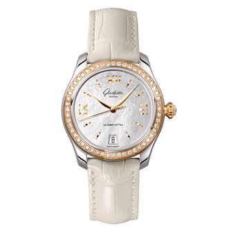 Glashutte Lady Serenade Ladies' Two Colour Diamond Watch - Product number 8084319