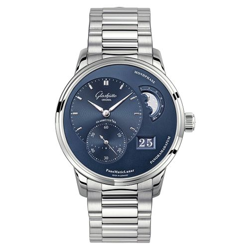 Glashutte PanoMatic Lunar Men's Moonphase Bracelet Watch - Product number 8084580