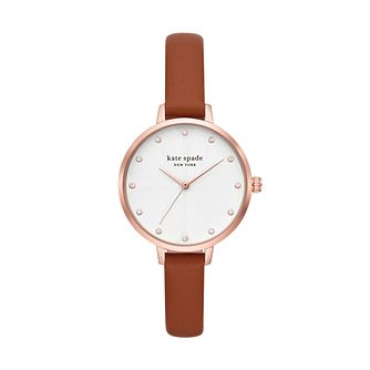 Kate Spade Metro Ladies' Rose Gold Tone Strap Watch - Product number 8084955