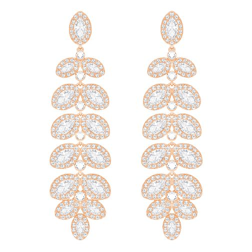 Swarovski Baron Rose Gold Plated Drop Earrings - Product number 8085226
