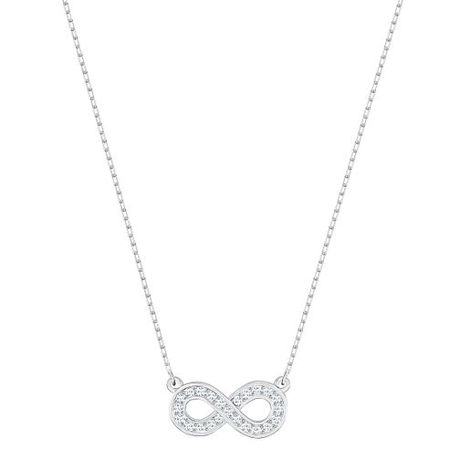 Swarovski Infinity Rhodium Plated Pendant - Product number 8085412