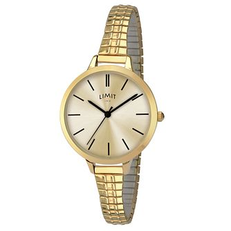 Limit Ladies' Gold Plated Bracelet Watch - Product number 8093393