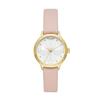 Kate Spade Rosebank Ladies' Yellow Gold Tone Strap Watch - Product number 8100268