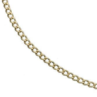 "9ct Yellow Gold 24"" Small Curb Link Necklace - Product number 8109028"