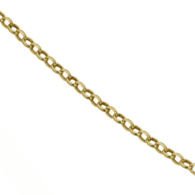 9ct Yellow Gold 16 Inch Belcher Chain - Product number 8109044