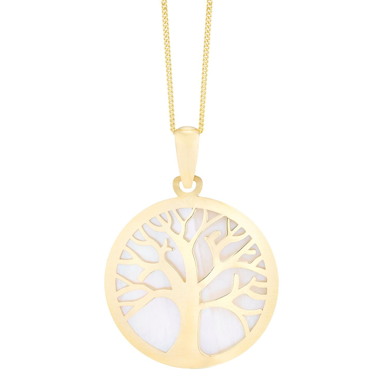 9ct Yellow Gold Tree of Life Design Pendant - Product number 8111154