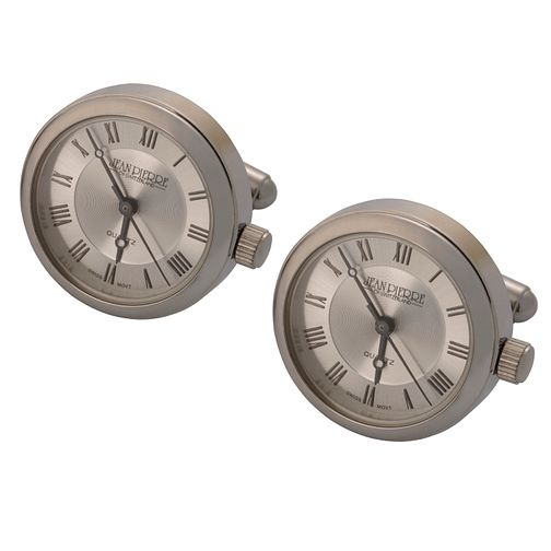 Jean Pierre silver dial cufflink watches - Product number 8113556