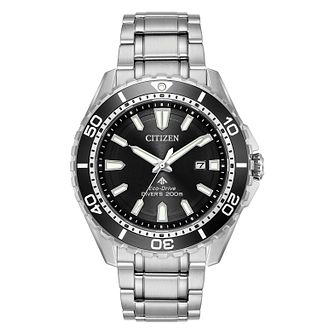 Citizen Men's Eco Drive Black Promaster Diver Watch - Product number 8117187