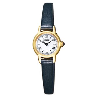 Citizen Elegance Ladies' Yellow Gold Tone Strap Watch - Product number 8117284