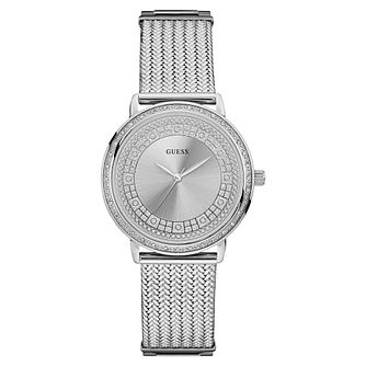 Guess Ladies  Stainless Steel Mesh Strap Watch - Product number 8119376 92fd386aa37c