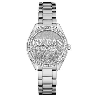 Guess Ladies' Iconic Stainless Steel Bracelet Watch - Product number 8119392