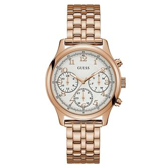 Guess Ladies' Rose Gold Tone Bracelet Watch - Product number 8119465