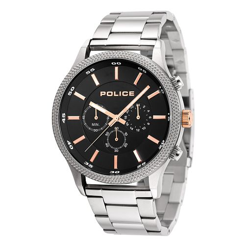 Police Men's Stainless Steel Bracelet Strap Watch - Product number 8119856