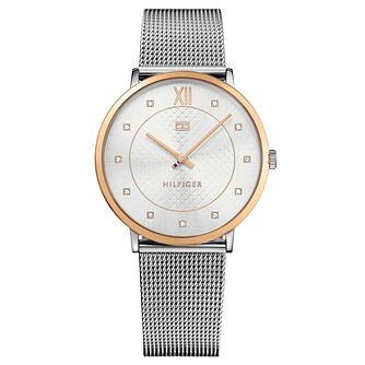 Tommy Hilfiger Ladies' Stainless Steel Mesh Bracelet Watch - Product number 8119902