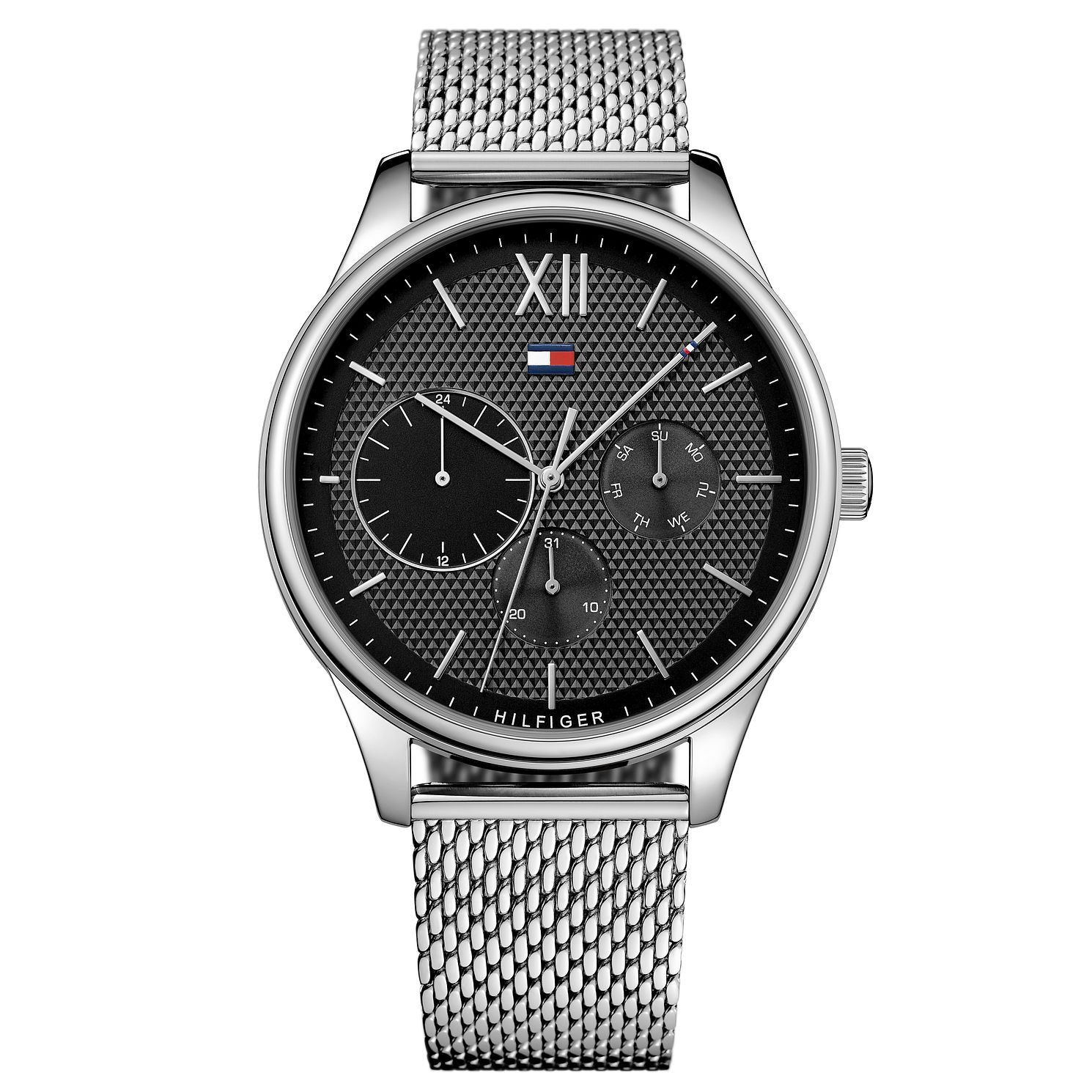 Tommy Hilfiger Men's Stainless Steel Mesh Bracelet Watch - Product number 8120226