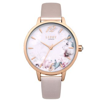 Lipsy Ladies' Pink PU Strap Watch - Product number 8120323