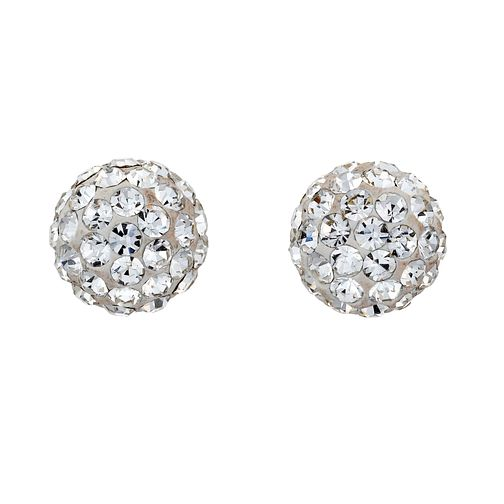 9ct White Gold Stud Earrings - Product number 8120420