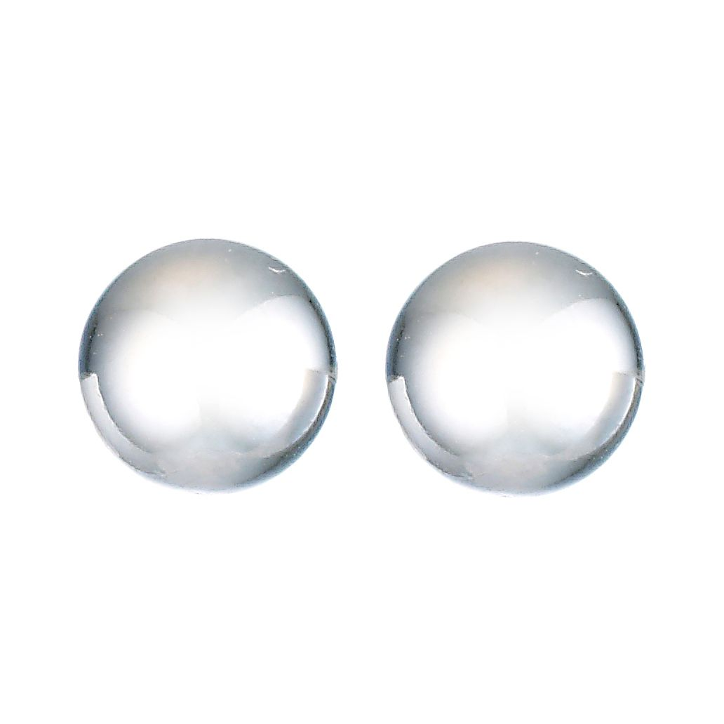 9ct White Gold 5mm Ball Stud Earrings - Product number 8124930