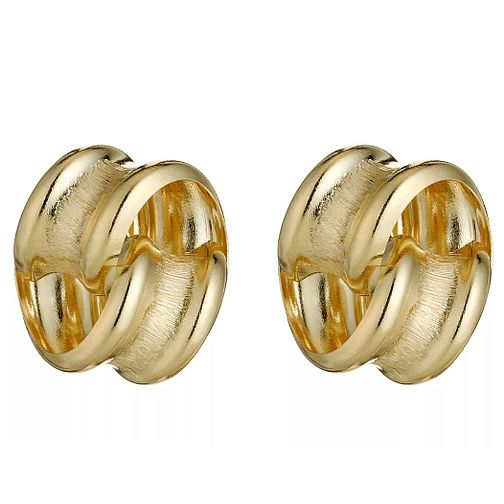 9ct Yellow Gold Knot Stud Earrings - Product number 8125074