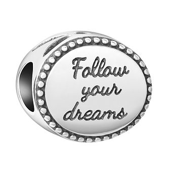 Chamilia Sterling Silver Follow Your Dreams Charm - Product number 8127999