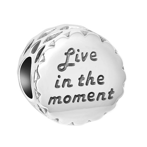 Chamilia Sterling Silver Live In The Moment Charm - Product number 8128022