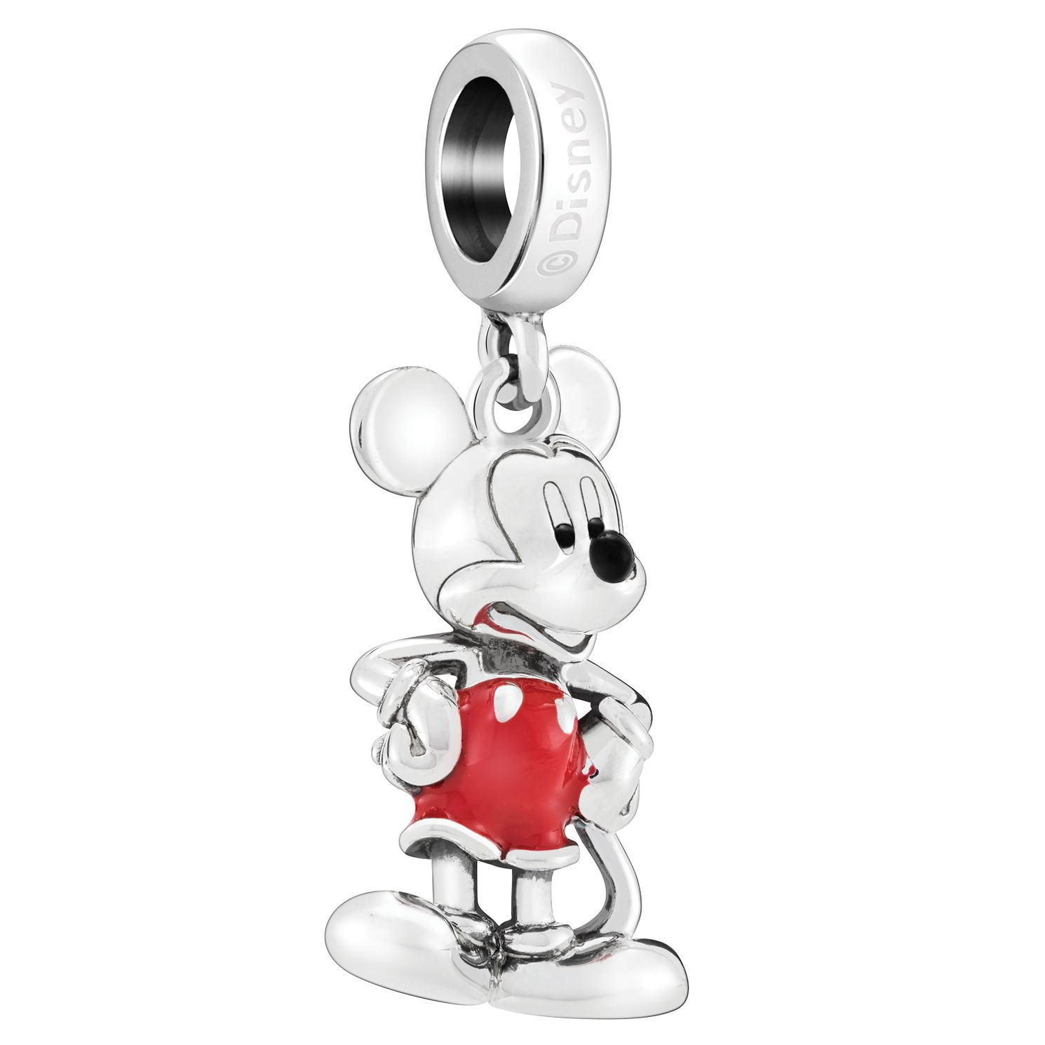 Chamilia Disney Classics Mickey Red & Black Enamel Charm - Product number 8128081