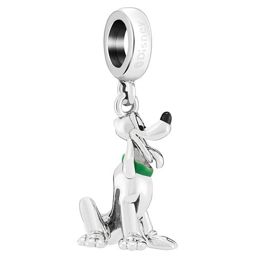 Chamilia Disney Pluto Hanging Charm with Green Enamel - Product number 8128111
