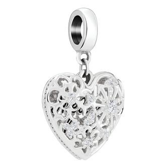 Chamilia Melt My Heart Locket Charm with Swarovski Zirconia - Product number 8128235