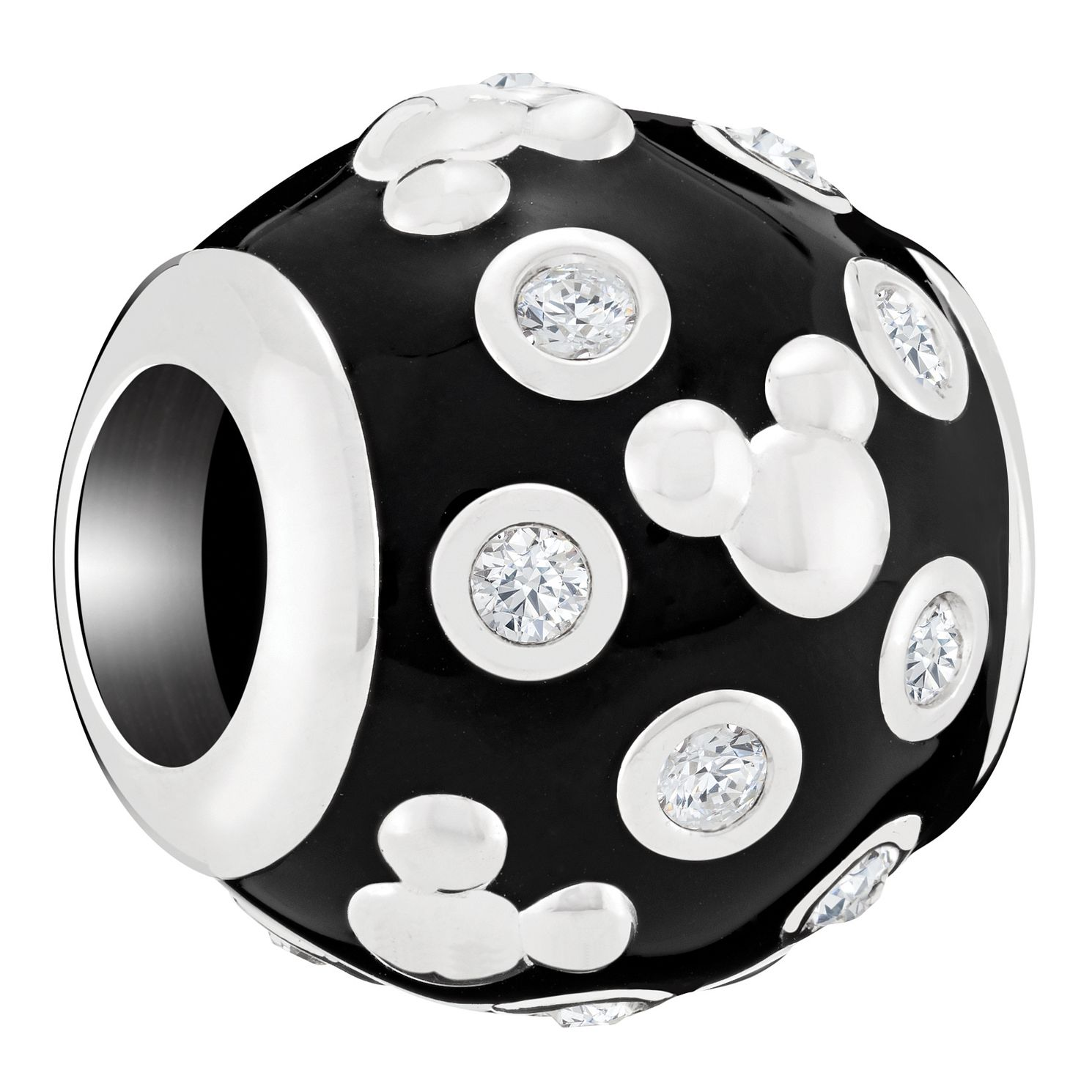 Chamilia Disney Mickey Black Enamel Accent Charm - Product number 8128278