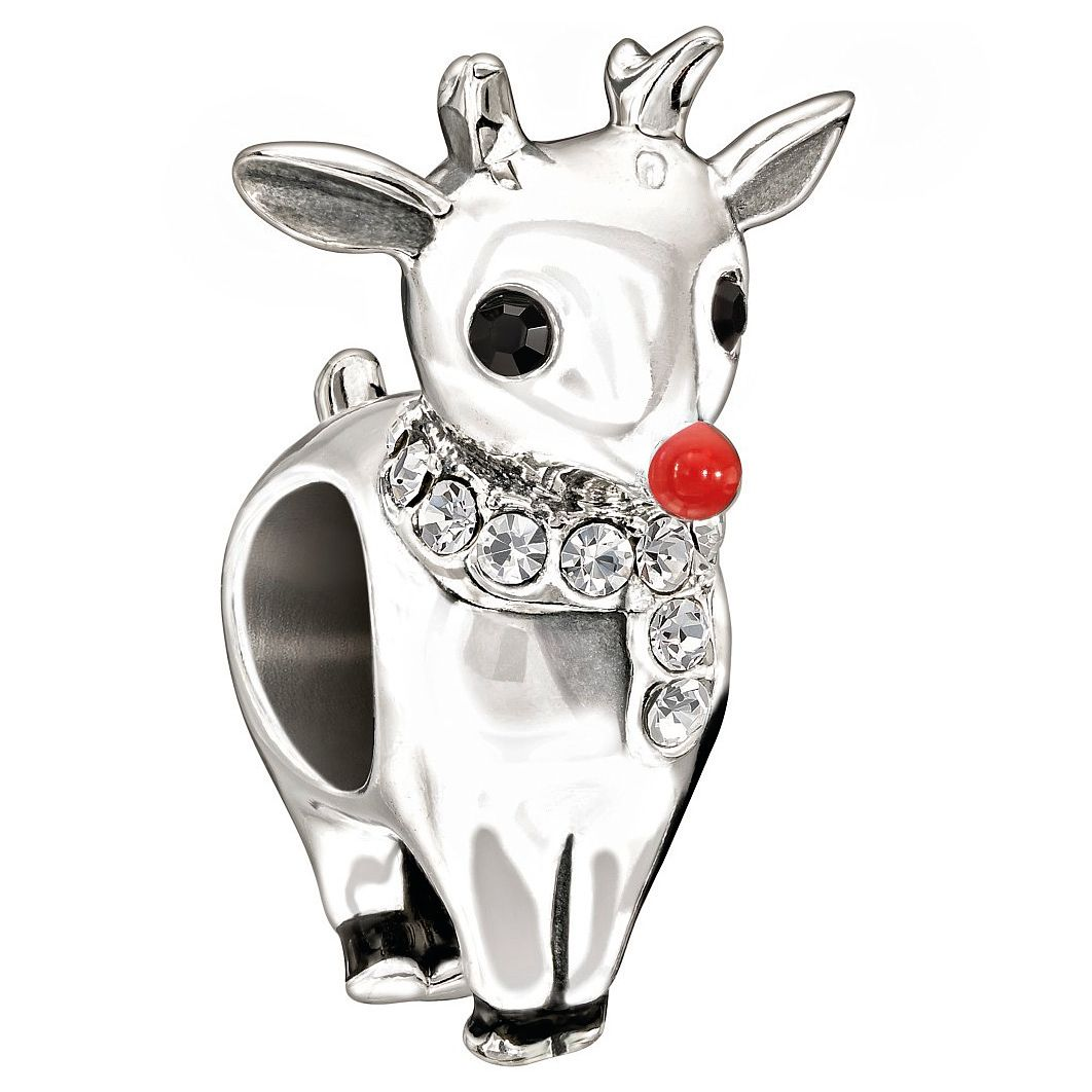Chamilia Sterling Silver Crystal Rudolph - Product number 8128596