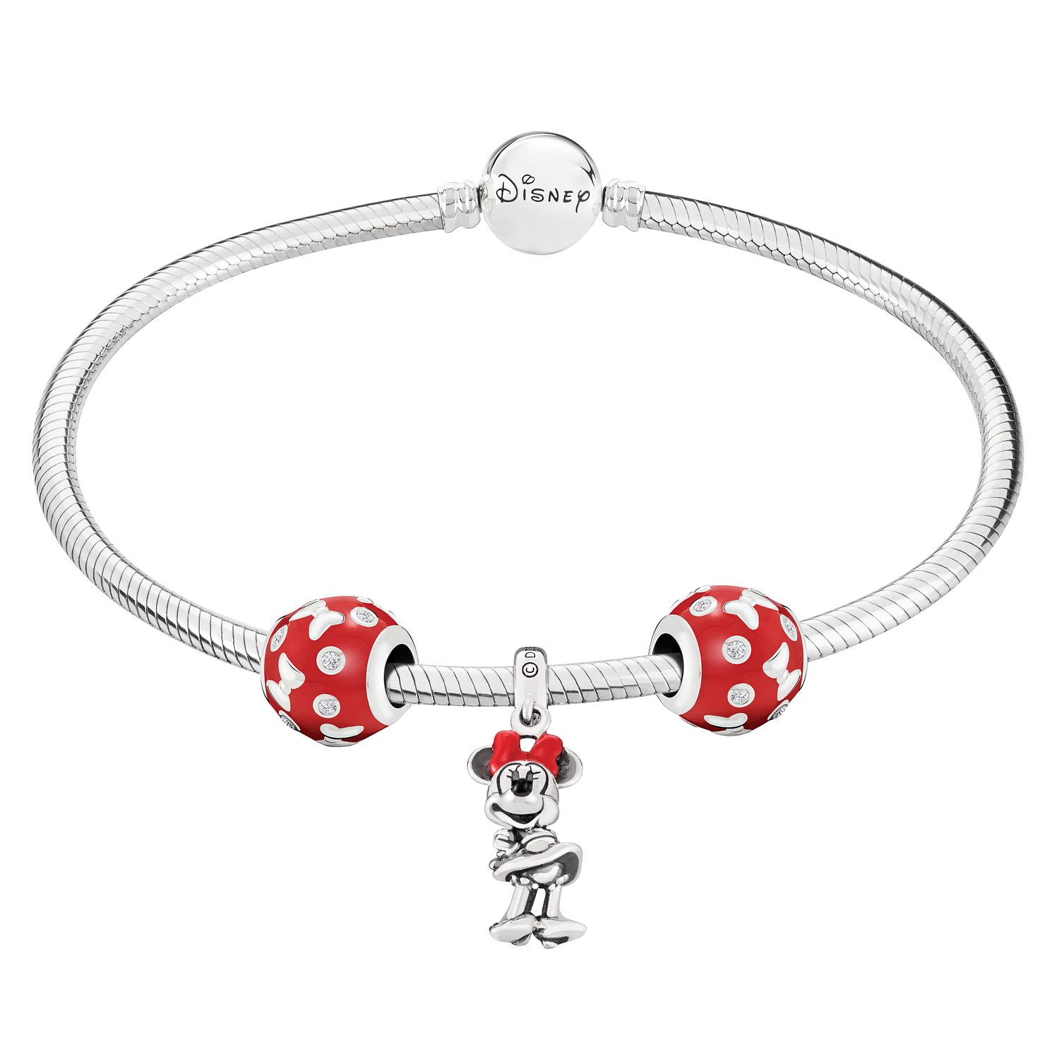 Chamilia Disney Minnie Charm & Bracelet Gift Set - Product number 8128855