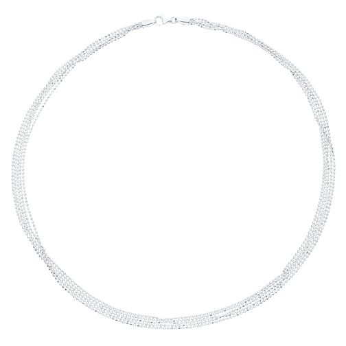 Sterling Silver Five Strand Necklace - Product number 8132070