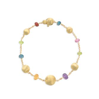 Marco Bicego 18ct Yellow Gold Africa Gemstone Bracelet - Product number 8139172