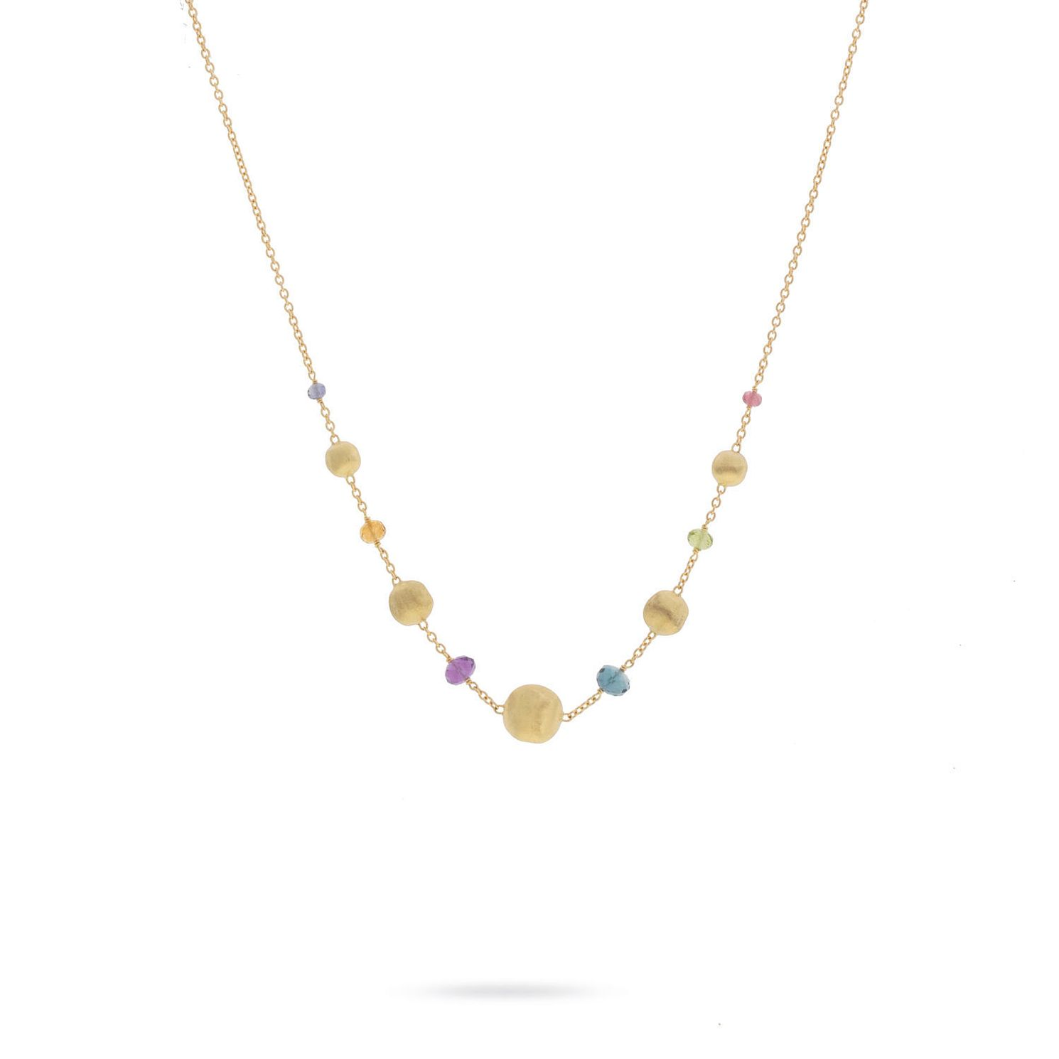 Marco Bicego 18ct Yellow Gold Africa Gemstone Necklace - Product number 8139210