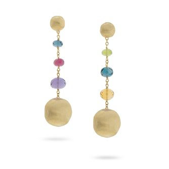 Marco Bicego 18ct Yellow Gold Africa Gemstone Drop Earrings - Product number 8139253